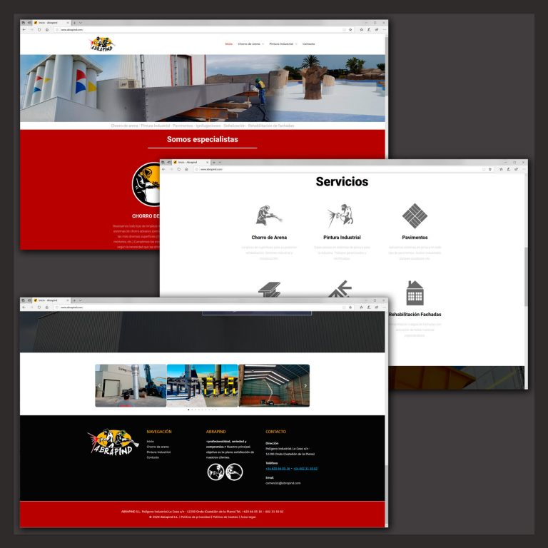 Web abrapind.com