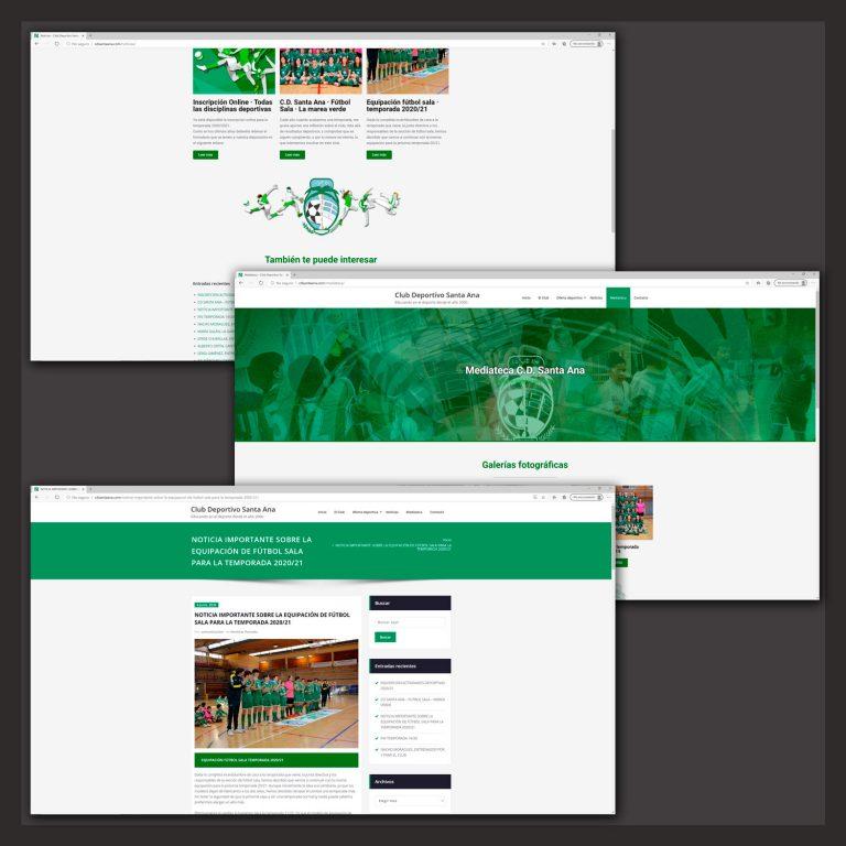 Web cdsantaana.com