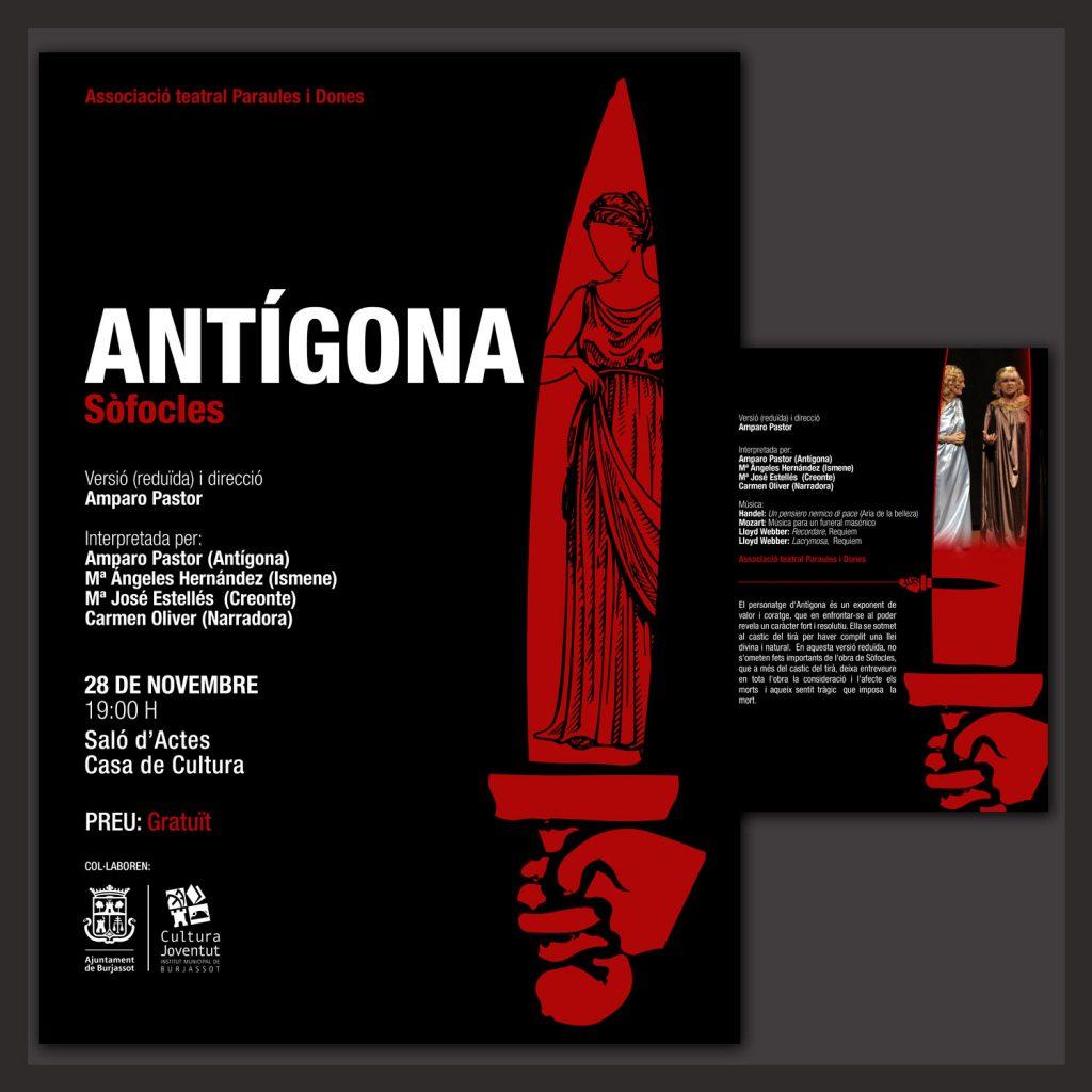 Cartel Antígona