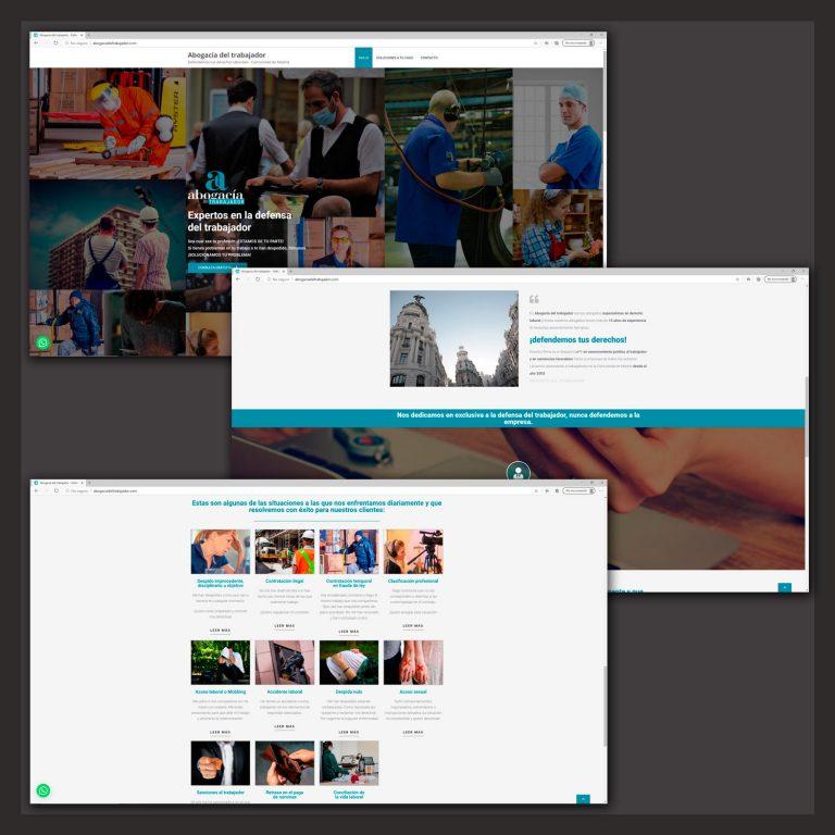 Web abogaciadeltrabajador.com